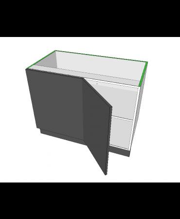 1 Door Blind Corner Cabinet - Modular - Shadowline