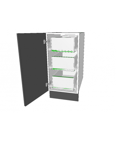 1 Door With 3 Inner Drawer - Premium Custom