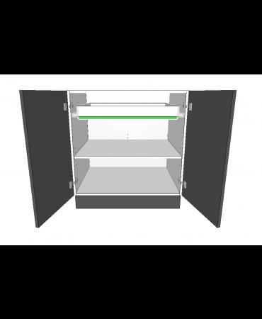 2 Door With 1 Inner Drawer  - Premium Custom