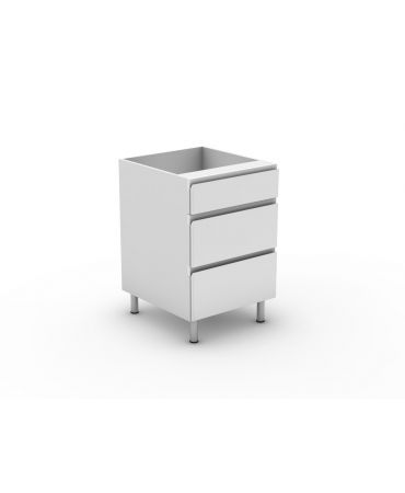 1 Small + 2 Pot Drawer - Modular - Shadowline
