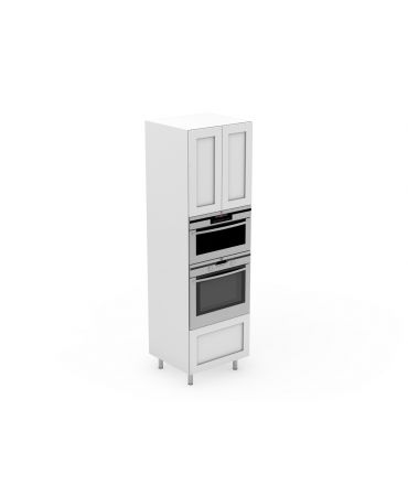 Pantry - 1 Drawer + Oven + Microwave - Modular - Shaker