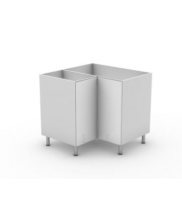 Base Bi Fold Corner Cabinet - Modular - Poly