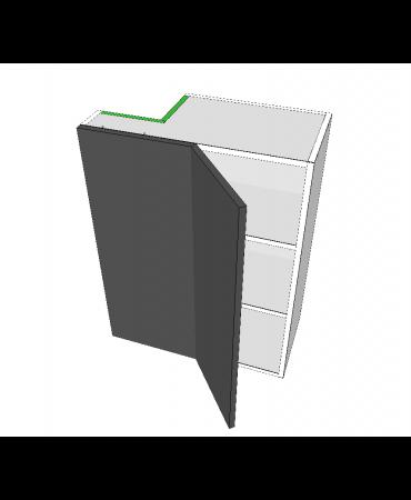 Blind Top Corner - 1 Door With Left Stack - Premium Custom