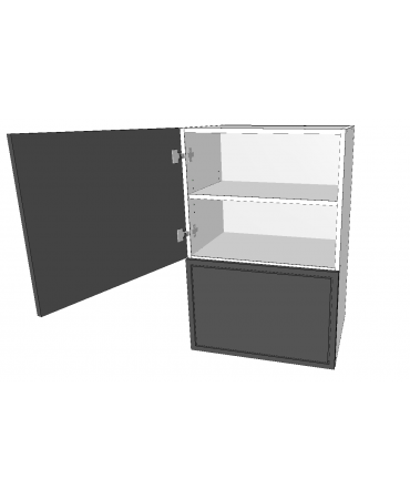 Microwave Cabinet - 1 Doors - Premium Custom