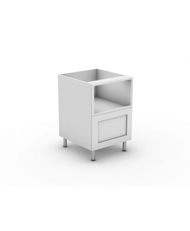 Under bench Microwave With 1 Drawer - Modular - Shaker