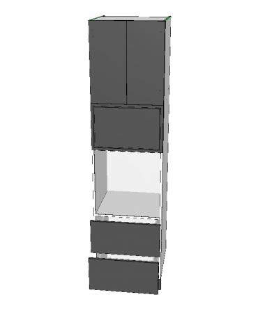 Pantry Tower - 2 Drawer + Oven + M/W + 2 Doors - Premium Custom