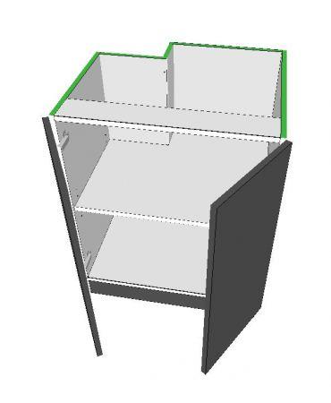 2 Door Base - Left Stack - Premium Custom