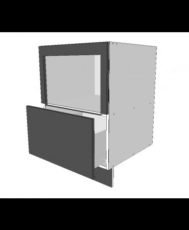 Under Bench Roller Door Cabinet With 1 Drawer - Premium Custom