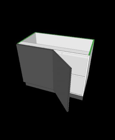 1 Door Blind Corner - Modular - Shaker