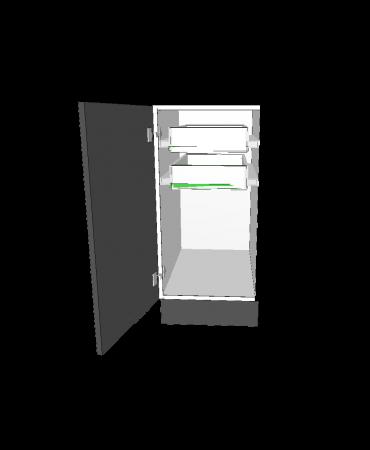 1 Door With 2 Inner Drawer - Premium Custom
