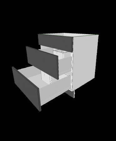 1 False Panel + 2 U shaped Drawers - Premium Custom
