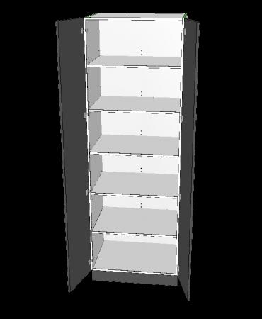 2 Door Pantry - Custom