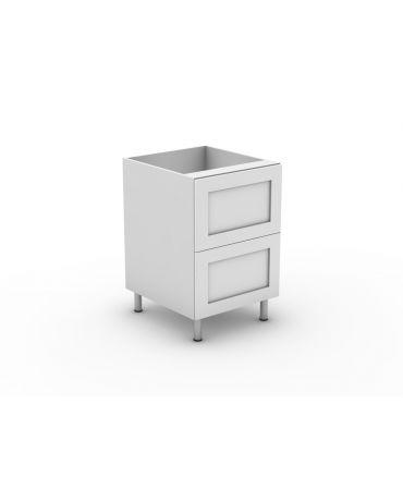 2 Equal Drawer - Modular - Shaker
