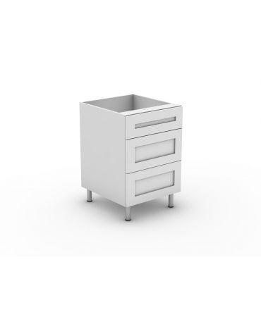 1 Small + 2 Pot Drawer - Modular - Shaker