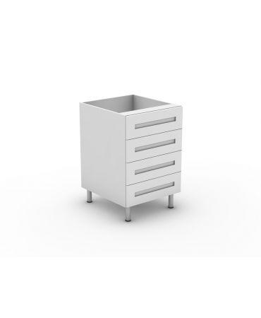4 Equal Drawer - Modular - Shaker