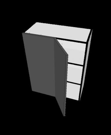 Blind Top Corner - 1 Door - Modular - Shaker