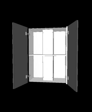 Fixed Raneghood - 2 Door With Duct - Premium Custom