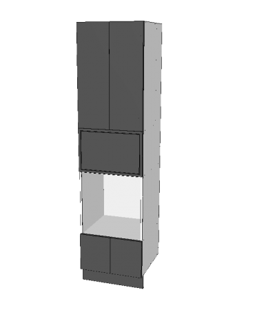 Pantry Tower - 2 Door + Oven + Micorwave + 2 Doors - Custom