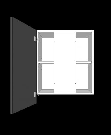 Slide Out Rangehood  - 1 Door - With Duct - Premium Custom