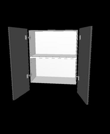 Slide Out Rangehood  - 2 Door - Modular - Shaker