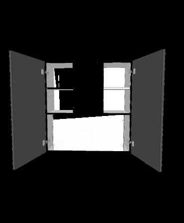 Under Cabinet Rangehood  - 2 Door - Custom